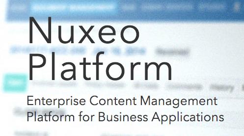 Nuxeo Enterprise Content Management